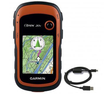 Odbiornik GPS eTREX 20x TopoActive Eastern Europe