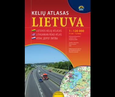 Lietuva kelius atlasas