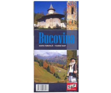 Bucovina harta turistica/tourist map