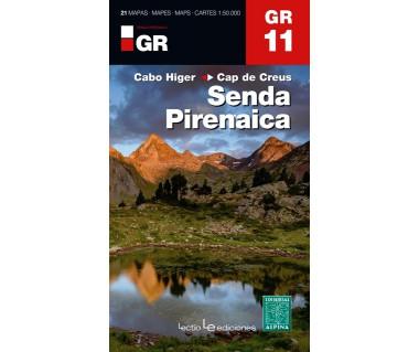 GR11 Senda Pirenaica (Komplet 21 map)