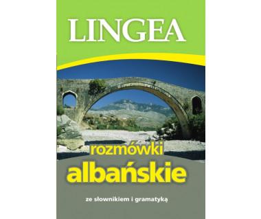 Rozmówki albańskie ze słownikiem i gramatyką