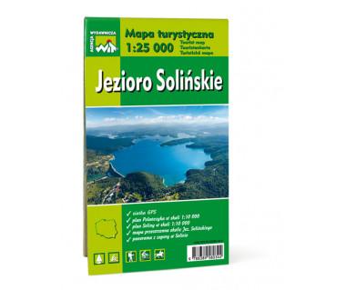 Polańczyk, Solina, Jezioro Solińskie mapa foliowana