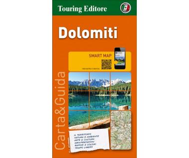 Dolomiti - Mapa turystyczna