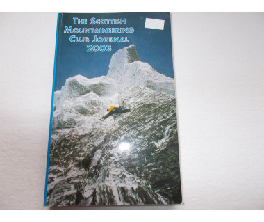 Scottish Mountaineering Club Journal 2003