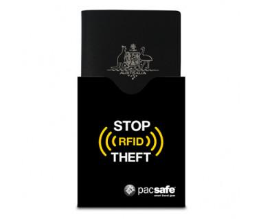 Etui na paszport RFIDsleeve 50 k:czarny