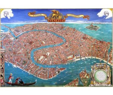 Venezia panorama della citta (tuba)