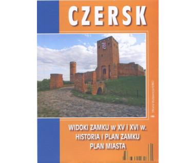 Czersk widoki zamku w XV i XVI w.