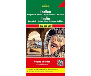 Indien,Bangladesh,Bhutan,Nepal,Sri Lanka,Malediven