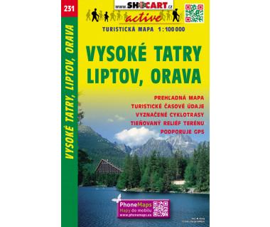 CT100 231 Vysoke Tatry, Liptov, Orava