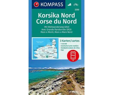K 2250 Korsika Nord (3 mapy kpl.)
