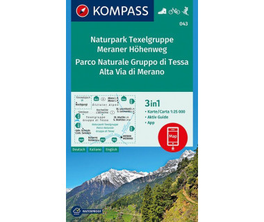 K 043 Naturpark Texelgruppe Meraner Hohenweg