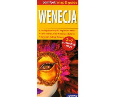 Wenecja 2 w 1 (mapa+przewodnik)