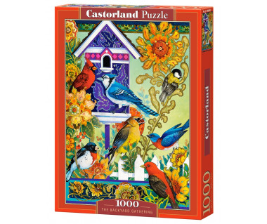 Puzzle 1000 The Backyard Gathering
