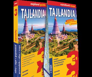 Tajlandia (przewodnik+atlas+mapa)