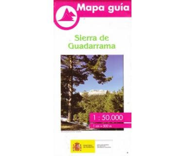 Sierra de Guadarrama. Mapa guía 1:50.000