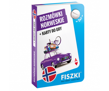 Rozmówki norweskie+karty do gry