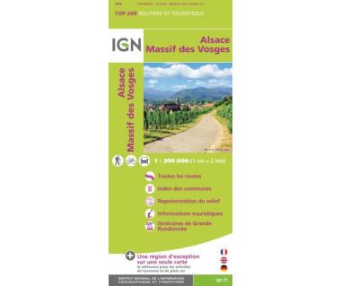 IGN 200201 Alsace / Massif des Vosges (2)