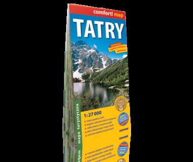 Tatry mapa laminowana