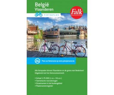 Belgie Vlaanderen Fietsaltas (atlas rowerowy)
