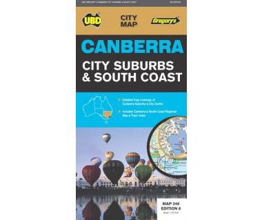 Canberra City Suburbs & South Coast
