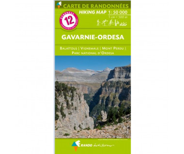 Pyrenees (12) Gavarnie-Ordesa: Balatous / Vignemale / Mont Perdu / Parc National D'Ordesa
