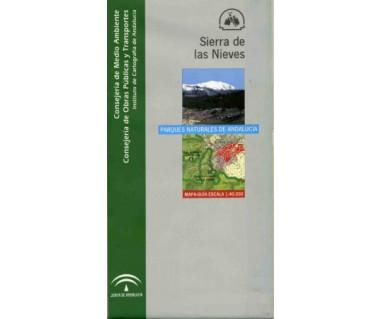 Sierra de las Nieves. Mapa guía 1:40.000