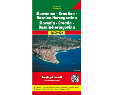 Słowenia, Chorwacja, Bośnia i Hercegowina