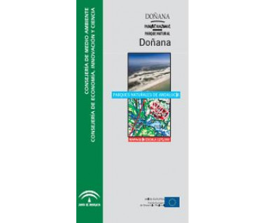 Parque Nacional y Natural de Doñana. Mapas guía 1:75.000