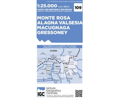 IGC 109 Monte Rosa, Alagna Valsesia, Macuganga, Gressoney