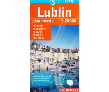 Lublin (plus5) Kraśnik, Lubartów, Łęczna, Puławy, Świdnik
