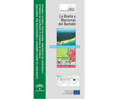 Parque natural de La Breña y Marismas del Barbate. Mapa guía 1:25.000