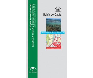 Parque Natural Bahía de Cádiz. Mapa guía 1:35.000