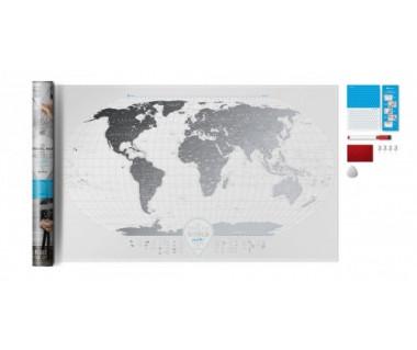 Mapa Zdrapka Travel Map Air World