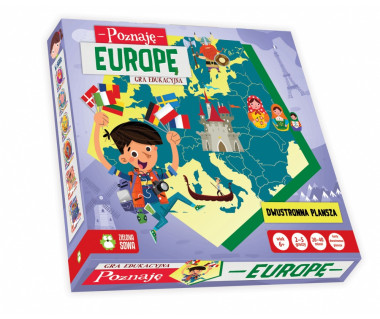 Gra Poznaję Europę