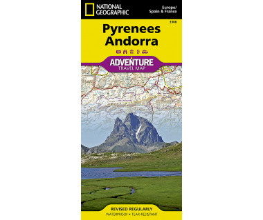 Pyrenees Andorra adventure travel map