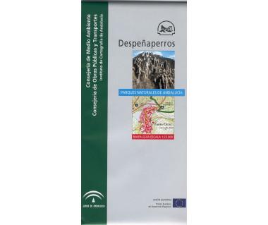 Parque Natural de Despeñaperros. Mapa guía. 1:25.000