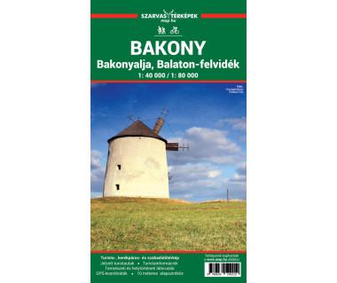 Bakony Bakonyalja, Balaton-felividek
