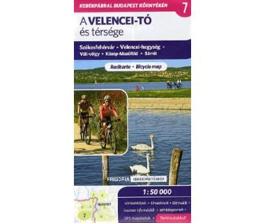 A Velencei-to es tersege (7) mapa rowerowa