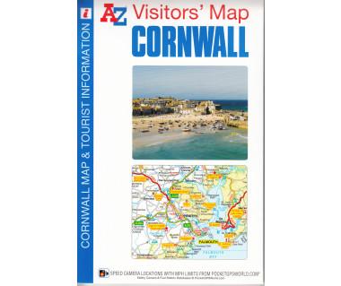 Cornwall Visitors' Map