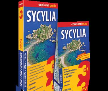 Sycylia (przewodnik+atlas+mapa)