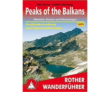 Peaks of the Balkans Rother Wanderfuhrer