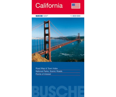 California - Mapa