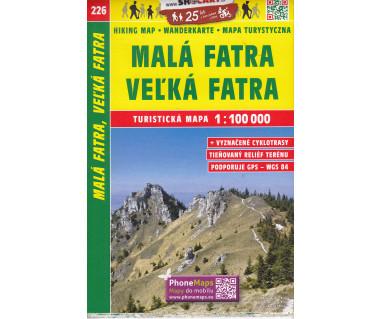 CT100 226 Mala Fatra, Velka Fatra