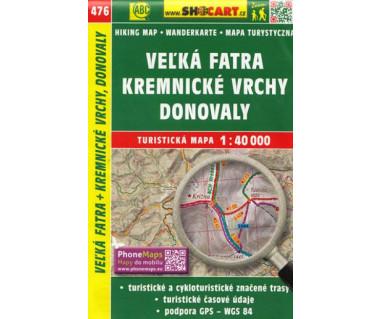 CT40 476 Velka Fatra, Kremnicke Vrchy, Donovaly