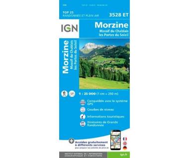IGN 3528 ET Morzine / Massif du Chablais / les Portes du Soleil