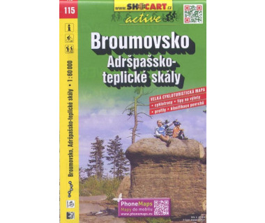 CT60 115 Broumovsko, Adrspassko-teplicke skaly