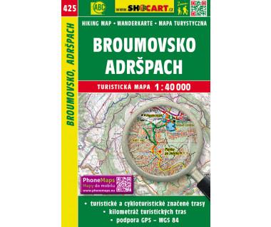 CT40 425 Broumovsko, Adrspach
