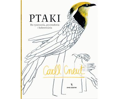 Ptaki. Do rysowania, gryzmolenia i kolorowania