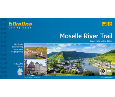 Moselle River Trail. From Metz to Rhine