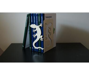 """Podpórka pod książki """"Gekon"""" lakierowana ecru"""